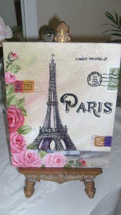 Paris Canvas Painting