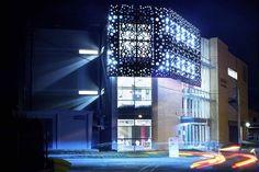 elewacja Multi Story Building, Company Logo, Projects, Log Projects, Blue Prints
