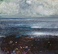Kurt Jackson: The tide come in, the sun goes in. October 2012 Campden Gallery, fine art, Chipping Campden, camden gallery, contemporary, con...