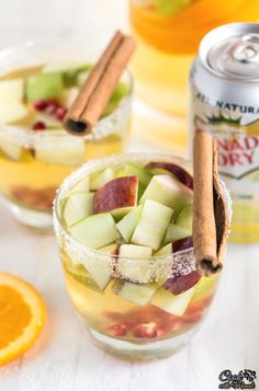 Non Alcoholic Apple Cider Sangria - Cook With Manali