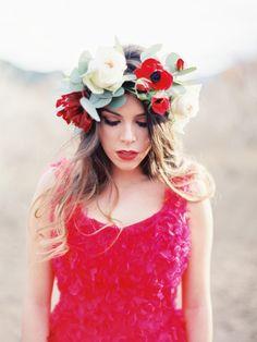 Photography: Romance Wedding | Poppy red wedding inspiration | Styling - Mar Sancoval | Flowers - Pedro Navarro