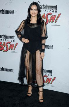 Camila Mendes – EW Party at San Diego Comic-Con - Celebrity Nude Leaked! New Riverdale, Riverdale Fashion, Hollywood Fashion, Hollywood Actresses, Actors & Actresses, Vanessa Morgan, Madelaine Petsch, Camila Mendes Style, Veronica Lodge Fashion