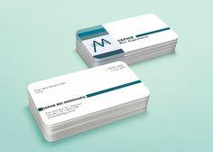 Desenvolvimento de cartões de visita para o cliente: Saphir Mec Engenharia
