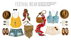 Indie show or music festival essentials. Festival Looks, Festival Wear, Festival Outfits, Festival Style, Festival Guide, Women's Accessories, Music Festival Fashion, Music Festivals, Summer Festivals