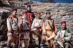 Late Romans soldiers from Legio VII Gemina Felix Cohors V Baetica.