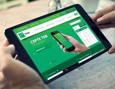 Concept Web Design for TEB