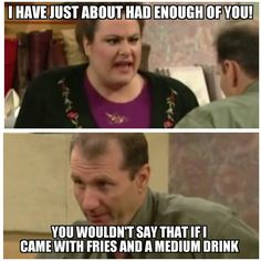 Al Bundy Quotes albundy funny al bundy quotes married with children Al Bundy Quotes. Here is Al Bundy Quotes for you. Al Bundy Quotes one of al bundys best advices funny pictures quotes. Al Bundy Quotes al bundy footba. Funny Picture Quotes, Funny Pictures, Funny Quotes, Funny Memes, Funny Shit, Funny Stuff, Hilarious, Tv Show Quotes, Movie Quotes