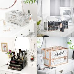 All the makeup storage solutions you could possibly want to find on eBay, all in one place! From super cheap options to larger drawer units.