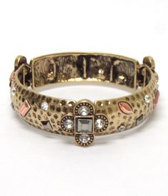 Metal Stretch Bracelet | High Falutin
