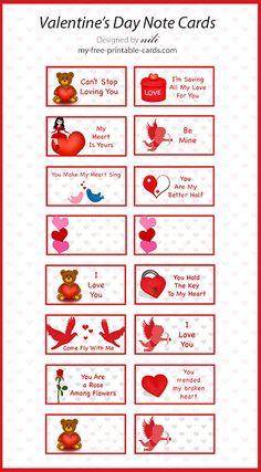 Free Prinatble Valentines Day Cards  httpwwwmyfree