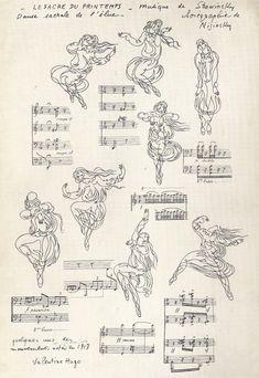 Le Sacre du Printemps, 1913 by Valentine Hugo