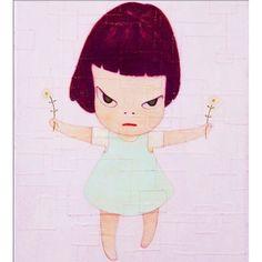 Yoshitomo Nara 2010 伊藤君子×高瀬アキ - まっかなおひるね〈Itou Kimiko x Takase Aki - Makka Na Ohirune〉[VideoArts VACV-1053]  #albumcover #奈良美智