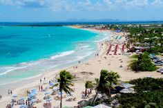 Most beautiful beach in the world...plus, everyone is naked LOL! St. Marten Orient Bay