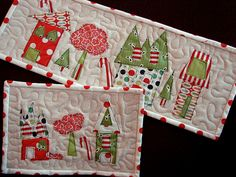Christmas table runner SO CUTE