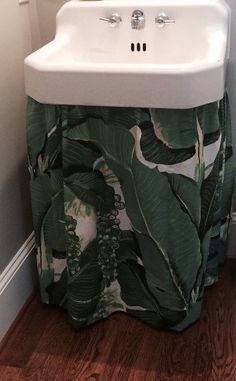 Sink Skirt Custom W Box Pleats Choose Your Own Fabric And Size 68 Wide X 34 Long Sink Skirt And Sinks