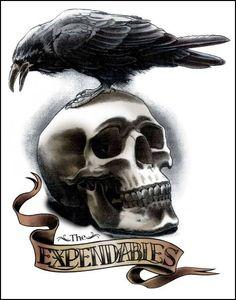 corvos tatuagens - Pesquisa Google