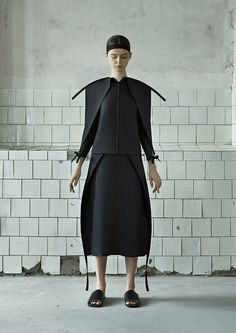 DZHUS is a conceptual womenswear brand launched in 2010 by Ukrainian designer and stylist Irina Dzhus. Vanguard yet utilitarian, DZHUS' visual identity derives from innovative structural solutions. The brand's design concepts are based on interaction and transformation of construction modules. The brand's collections are inspired by things at the edge of perception: from spiritual strongholds to abandoned industrial zones. Reserved colouring and technical textures are typical of Irina…