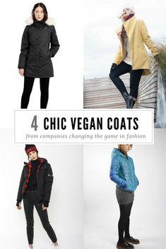 Chic and warm vegan winter coats! Vegan Fashion, Slow Fashion, Ethical Fashion, Fashion Brands, Teen Fall Outfits, Winter Outfits, Winter Coats Women, Coats For Women, Fair Trade Fashion