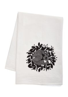 Sly and Dry Tea Towel. Dont let drips and spills sneak up on you - take care of them in an instant with this cotton tea towel!  #modcloth