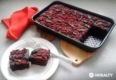 Paleo Brownies, Paleo Dessert, Healthy Sweets, Yummy Treats, Waffles, Raspberry, Food And Drink, Tasty, Fruit