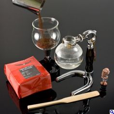 syphon coffee brewing fro JP-hario coffee filter