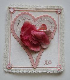 xo millinery heart by Julie Collings