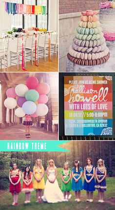 rainbow theme- Harvesting Love Events