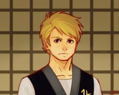 Young Wu! It's about time we saw some more young Wu fanart out there! By Erra-day on tumblr<<<he looks a lot like Lloyd...family resemblance, I suppose