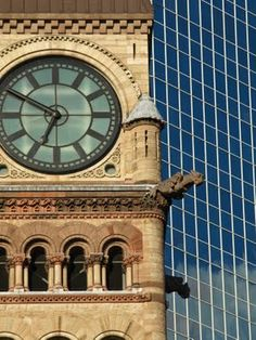 Old City Hall Clock, Toronto, Canada