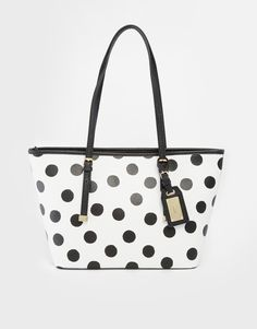 2b6bc2b8e4e ALDO+Mini+Spotted+Tote Polka Dot Bags