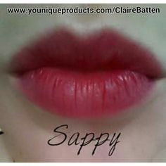 Stiff Upper Lip Lip Stain in Sappy #lipstain #gorgeouslips #lush #fullerlips #younique #cosmetics