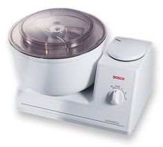 Bosch Universal Mixer - amazingly powerful!  This mixes up to 15 pounds of bread dough!!