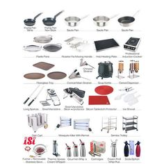 Kitchen items vocabulary buscar con google kitchen for Kitchen equipment names