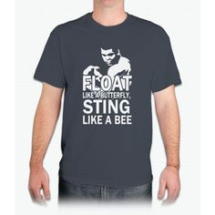 Float Like A Butterfly Sting Like A Bee Bee Movie - Mens T-Shirt