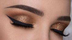 Glitter make up