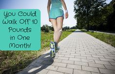 Rise and Stride: You Could Walk Off Up to 10 Pounds in 28 Days