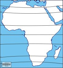 Africa: Free maps, free blank maps, free outline maps, free base maps