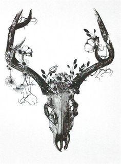 cute sun and moon tattoos, celtic tattoo stencils, christian leg tattoos …. Skull Thigh Tattoos, Animal Skull Tattoos, Deer Tattoo, Elephant Tattoos, Feather Tattoos, Animal Skulls, Leg Tattoos, Cool Tattoos, Tattoo Thigh