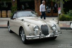 1961 Jaguar Xk150. The last XK150 built. This car was purchased by the Kelly family of Philadelphia and often driven by the daughter Grace.