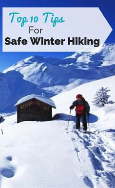 Top winter hiking tips to keep you safe out on the trail. Learn what to wear, when to hike, what gear you need and more to keep in mind while winter hiking. hairstyle for hiking, hiking pants, kids hiking Backpacking Tips, Hiking Tips, Hiking Gear, Camping Hacks, Hiking Shirts, Hiking Pants, Winter Hiking, Winter Camping, Kids Hiking
