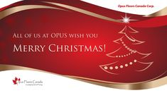 All of us at OPUS wish you and your families Merry Christmas!!! Days which the orderdesk, office and warehouse are closed: Dec 24, 25, 26 & Jan 1.  Happy Holidays!!!