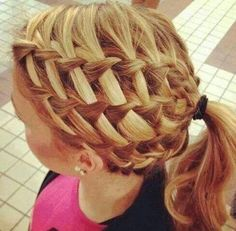 Hannah has the hair for this. Love it