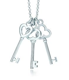 Tiffany Keys are exquisitely crafted key pendants, each with a promising story to tell. Shop all Tiffany key necklaces in gold, sterling silver and more. Wolf Jewelry, Key Jewelry, Jewelry Shop, Fashion Jewellery Online Shopping, Fashion Jewelry, Tiffany Key Necklace, Key To My Heart, Mini Heart, Necklace For Girlfriend