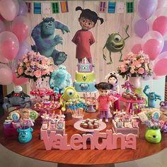 Trendy Birthday Girl Second Kids 65 Ideas Monster Inc Party, Monster 1st Birthdays, Monster Birthday Parties, Monster University Party, 2nd Birthday Party For Girl, Second Birthday Ideas, First Birthday Party Themes, Baby Party, Monsters Inc Girl