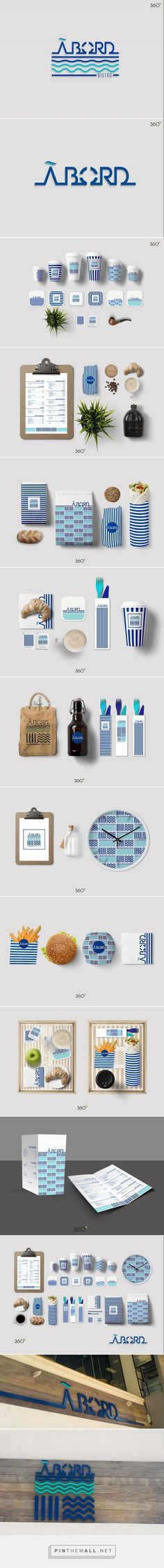 Aboard Branding on Behance | Fivestar Branding – Design and Branding Agency & Inspiration Gallery