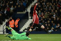 Wayne Rooney was unable to break Bobby Charlton's goalscoring record against West Brom