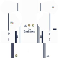 You can get the Real Madrid Kits Dream League Soccer with urls. The Real Madrid DLS Kits are very amazing and easy to use. You can also get the other kits of the Real Madrida. Real Madrid Kit 2017, Real Madrid Third Kit, Real Madrid Home Kit, Real Madrid Logo, Logo Real, Camisa Real Madrid, Real Madrid Goalkeeper, Cristiano Ronaldo Junior, Soccer Logo