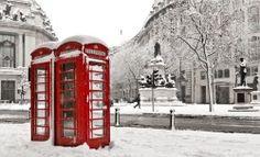 allthingseurope:  London Snow (by Powered by Geek)
