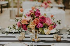 Carly & Jason's Vibrant, Eclectic Wedding at The Villa San Juan Capistrano | Floral Occasions