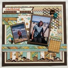 Scrapbook Layout We R Memory Keepers